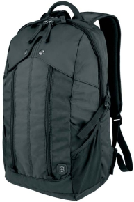 VICTORINOX 32389001 Рюкзак Altmont 3.0 Slimline Backpack 15,6'', чёрный, нейлон Versatek™, 30x18x48 см, 27 л