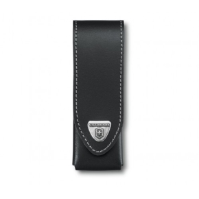 4.0523.3 Victorinox Pouch Black Чехол кожаный черный для Services pocket tools 111mm, Pocket Multi Tools lock-blade 111 mm, Swiss Tools Spirit, Swiss Tools, до 3